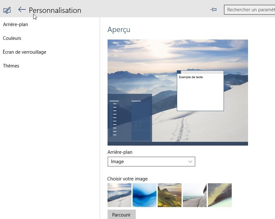 Windows 10 retrouver ses icones sur le bureau l2t for Bureau windows 10